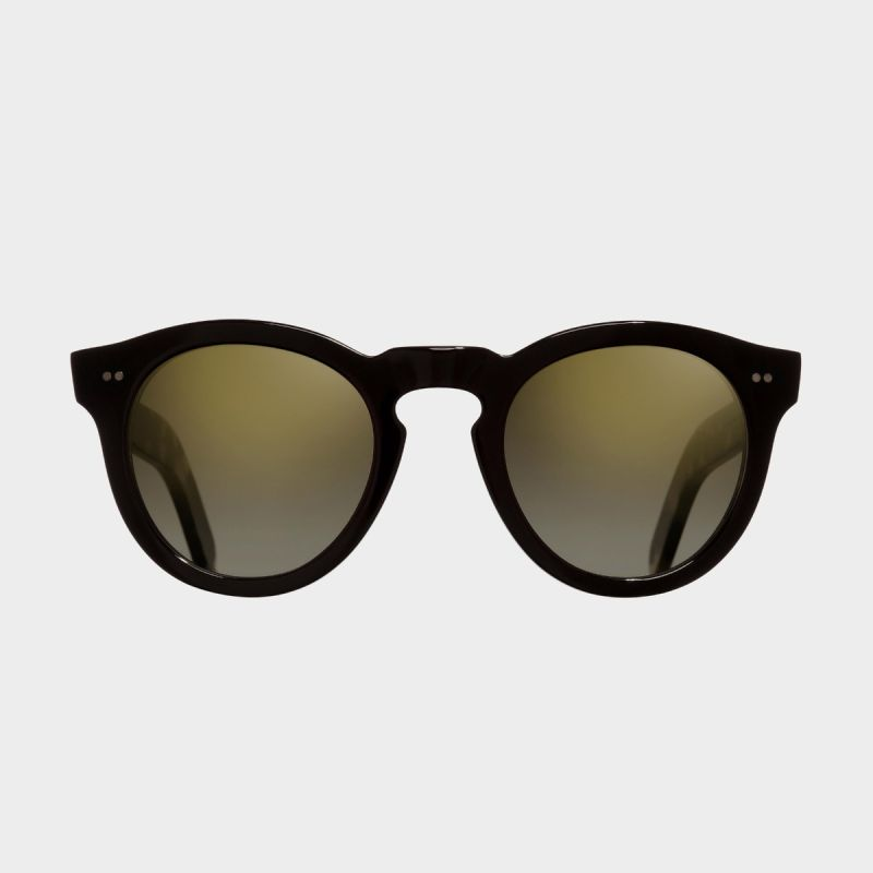 0734 Round Sunglasses (Large)-Black on Camo