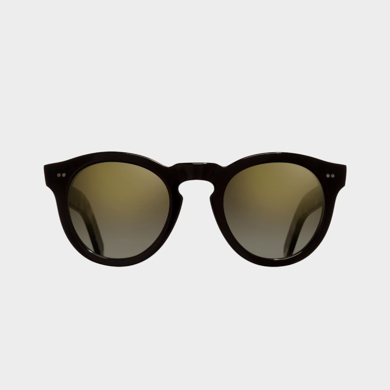 0734V2 Round Sunglasses (Small)-Black on Camo