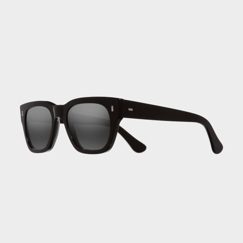 0772V2 Square Sunglasses-Black