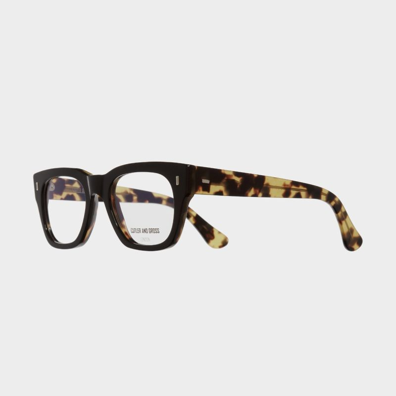 0772V2 Optical Square Glasses-Black on Camo