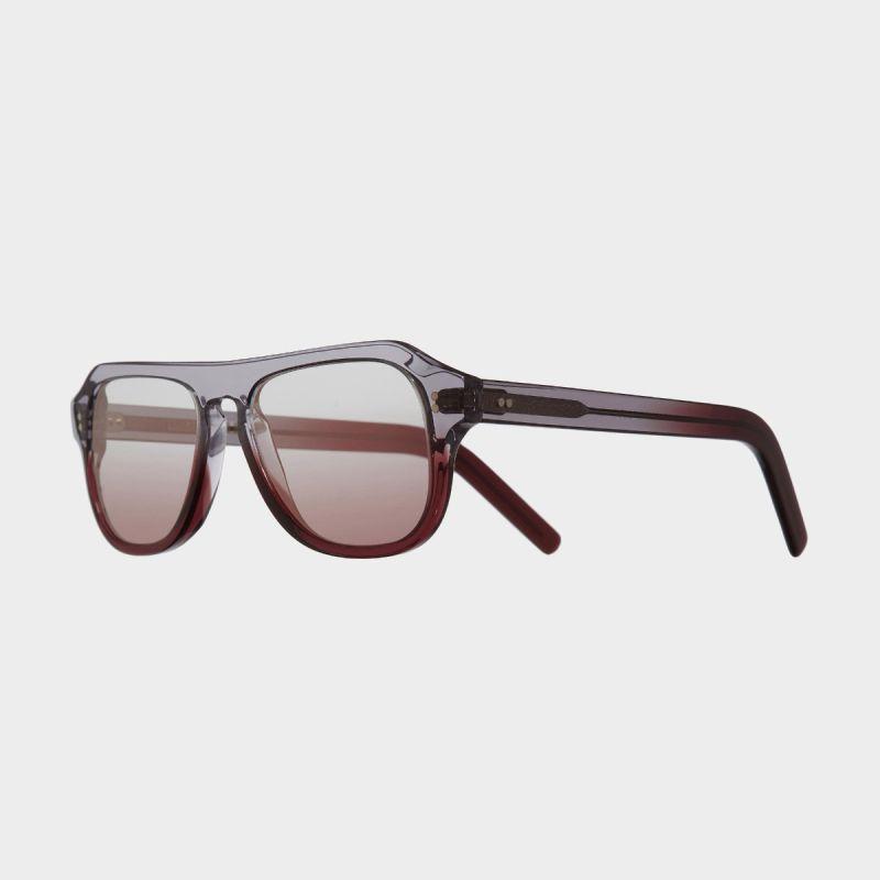 0822V2 Aviator Sunglasses-Reverse Grad Sherry