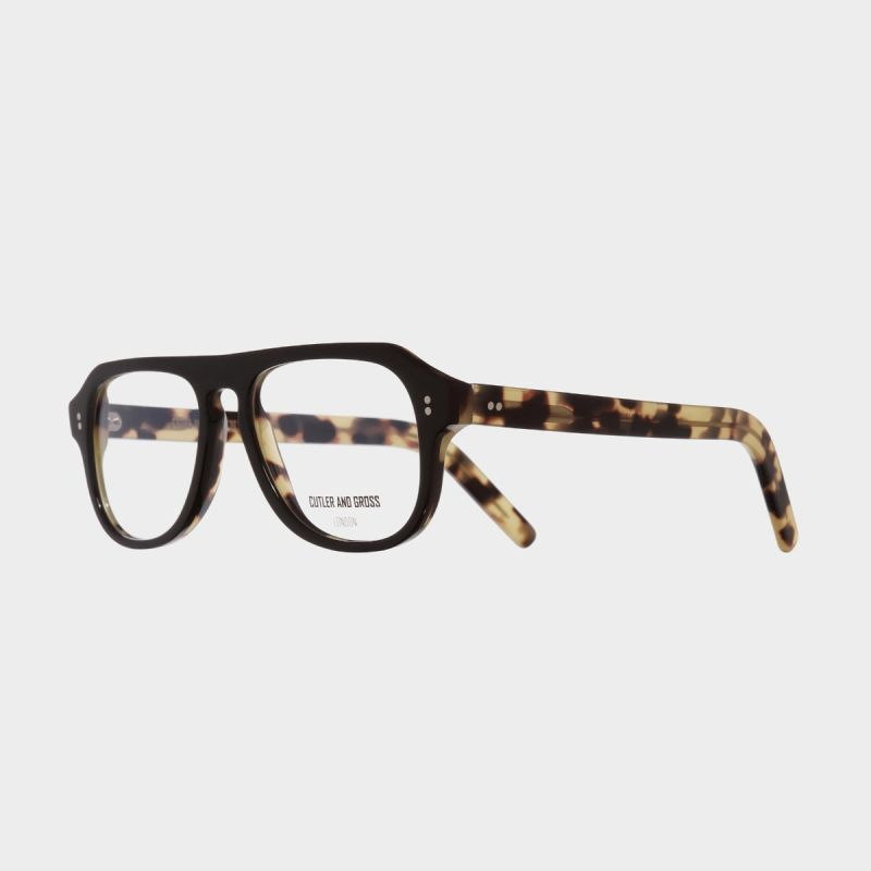 0822V3 Optical Aviator Glasses (Large)-Black on Camo