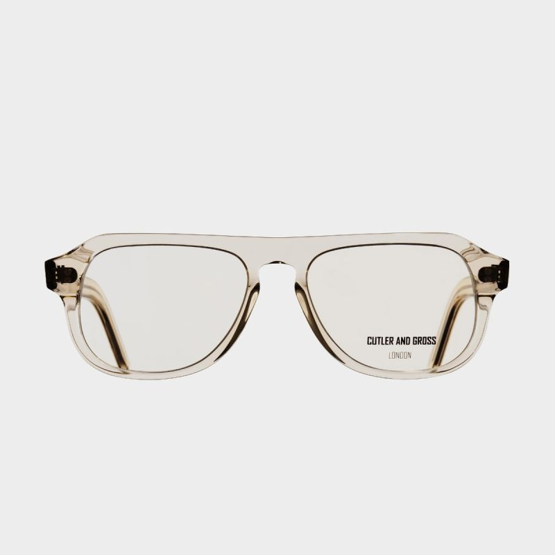0822V3 Optical Aviator Glasses (Large)-Granny Chic