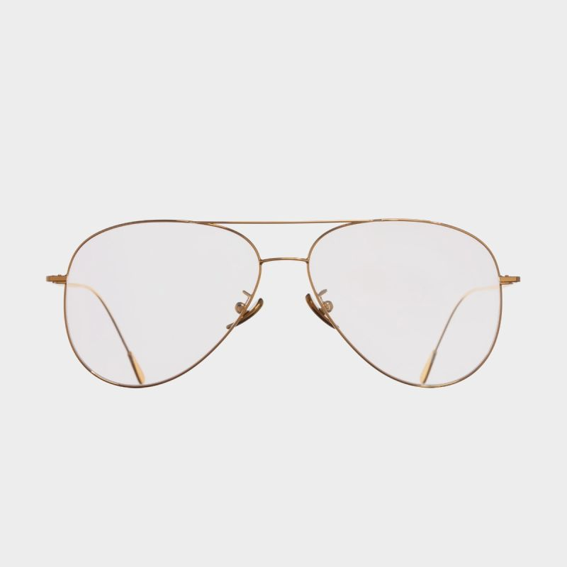 1266 Plated Optical Aviator Glasses