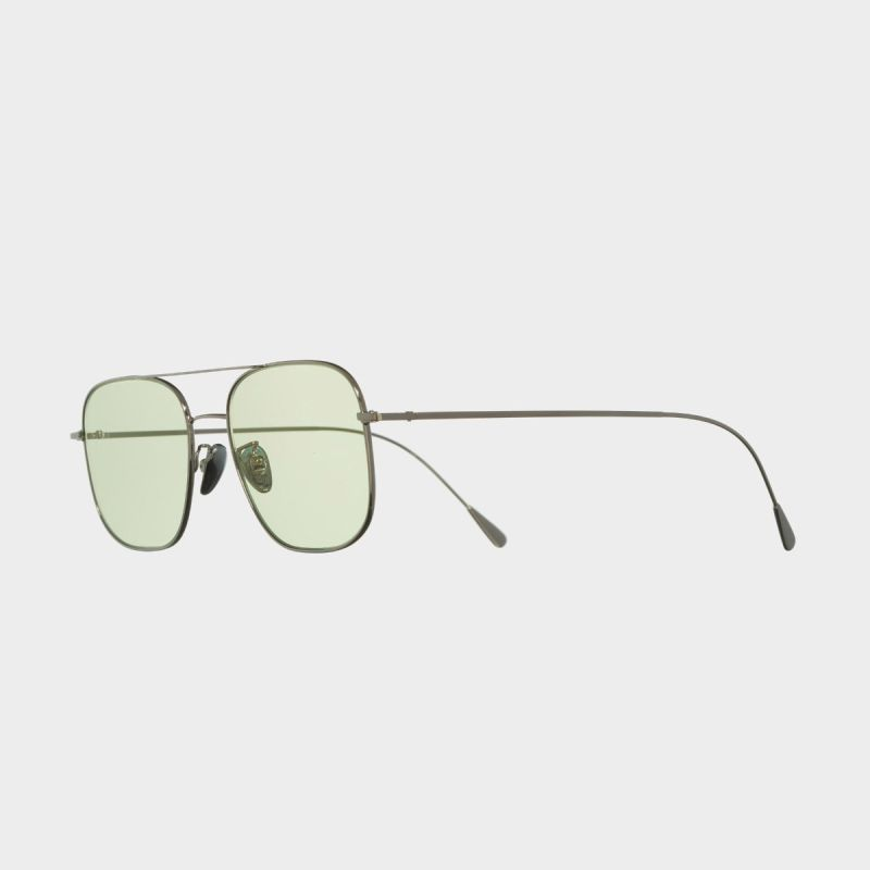 1267 Palladium Plated Square Sunglasses