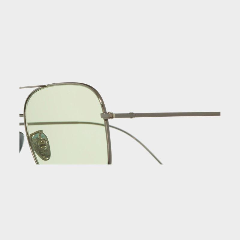1267 Palladium Plated Square Sunglasses