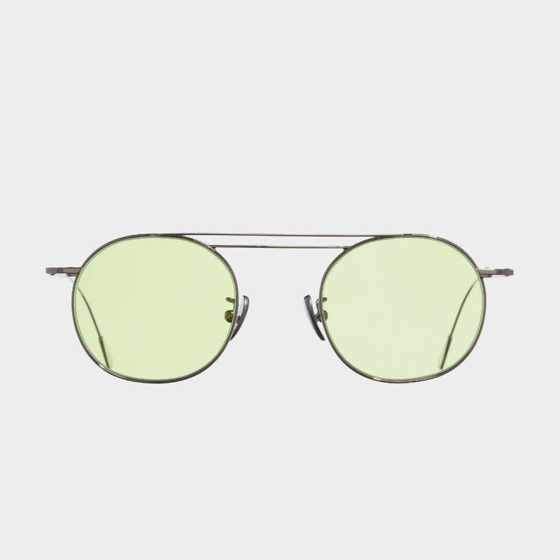 1268 Palladium Plated Round Sunglasses