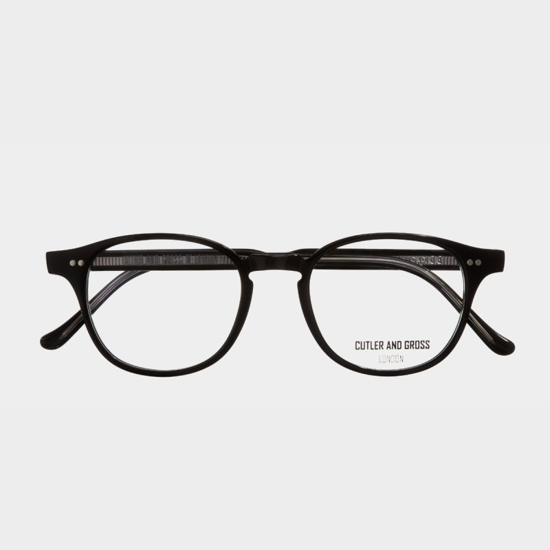 1312 Optical D Frame Glasses (Small)