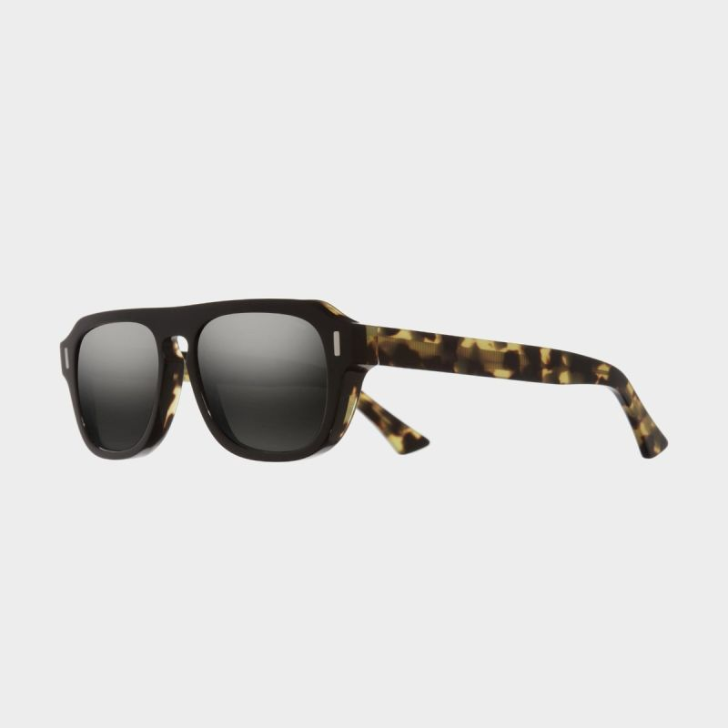 1319 Aviator Sunglasses-Black on Camo