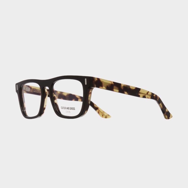 1320 Optical D-Frame Glasses-Black on Camo