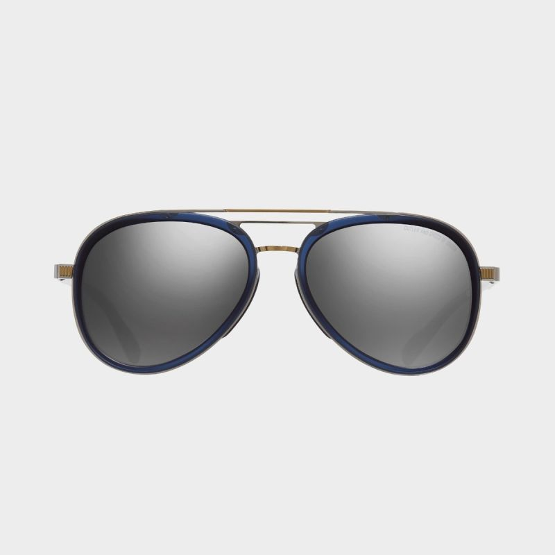 1323 Aviator Sunglasses-Classic Navy Blue