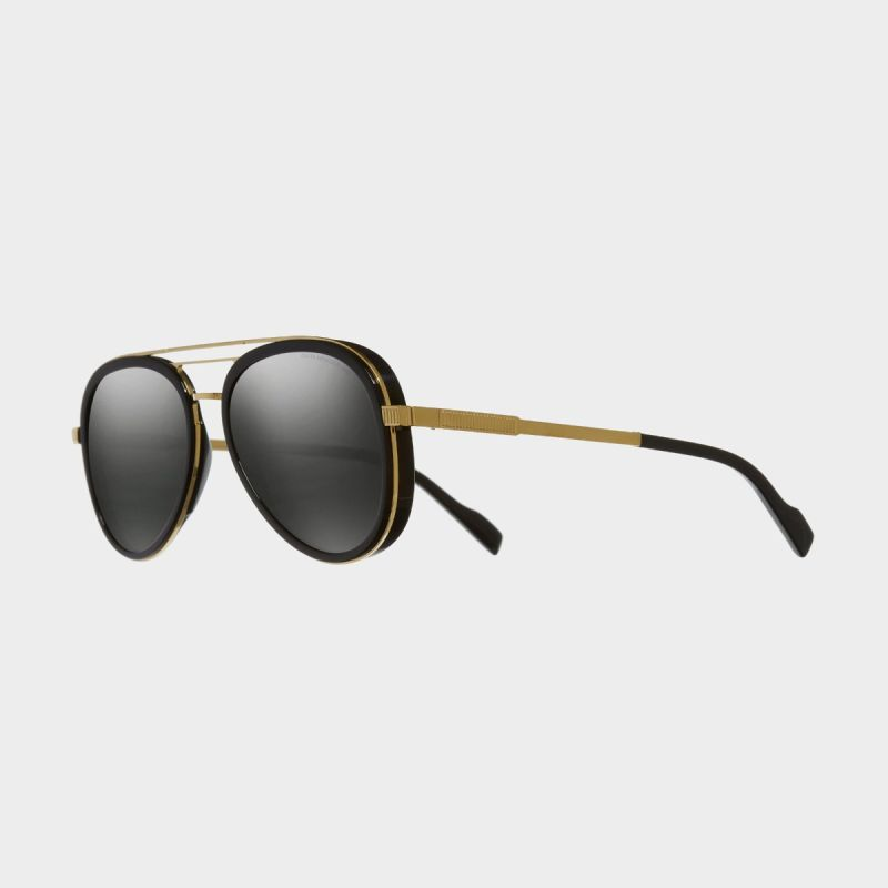 1323 Aviator Sunglasses-Black