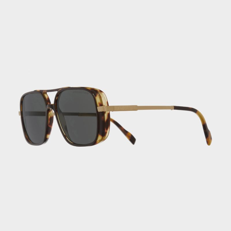 1345 Square Sunglasses-Black Taxi on Camo