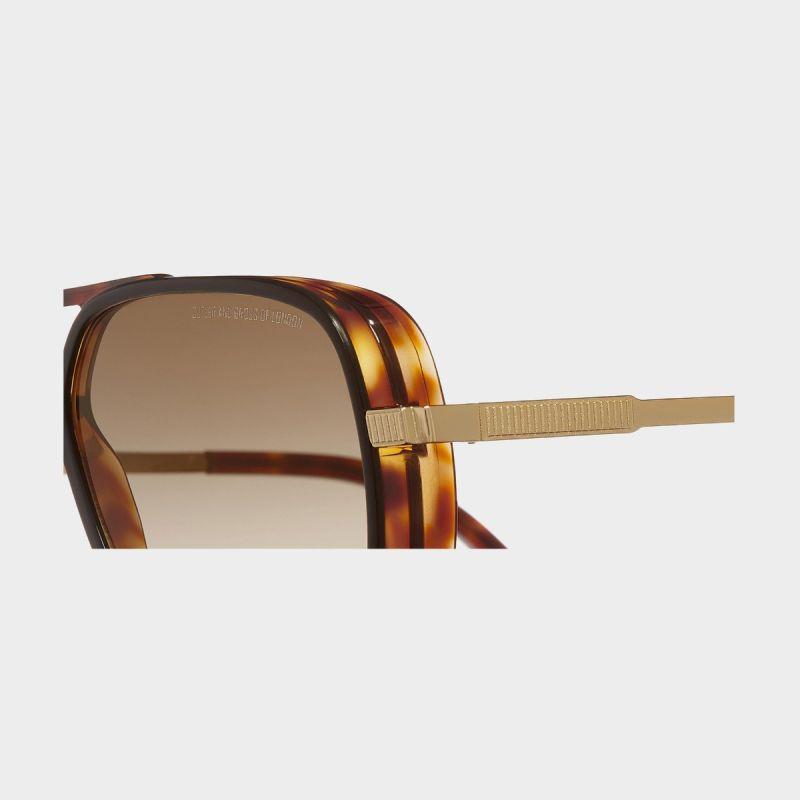1345 Japanese Titanium Square Sunglasses
