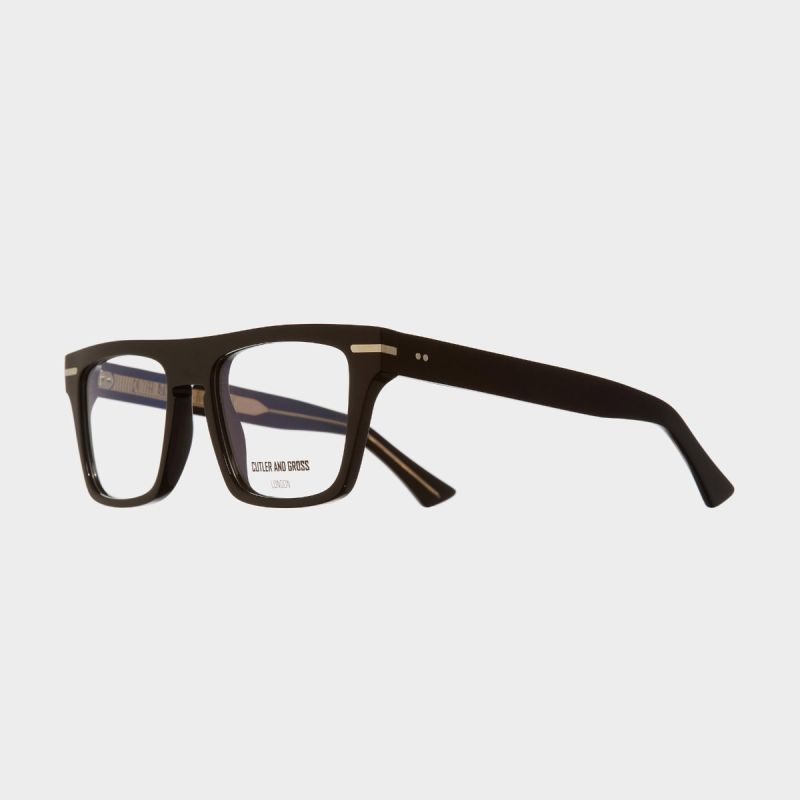 1357 Optical D-Frame Glasses