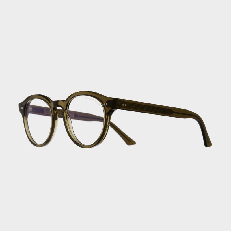 1378 Optical Round Glasses-Olive