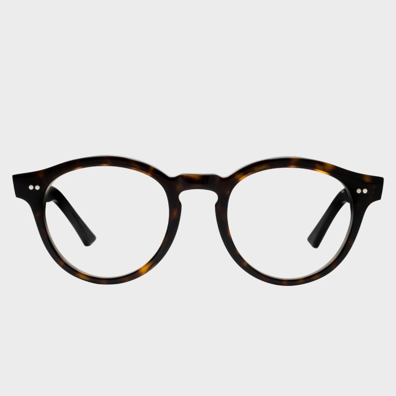 1378 Blue Light Filter Optical Round Glasses-Dusky Turtle