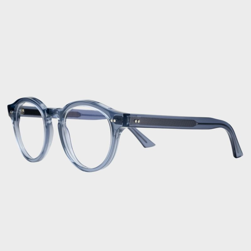 1378 Blue Light Filter Optical Round Glasses-Brooklyn Blue