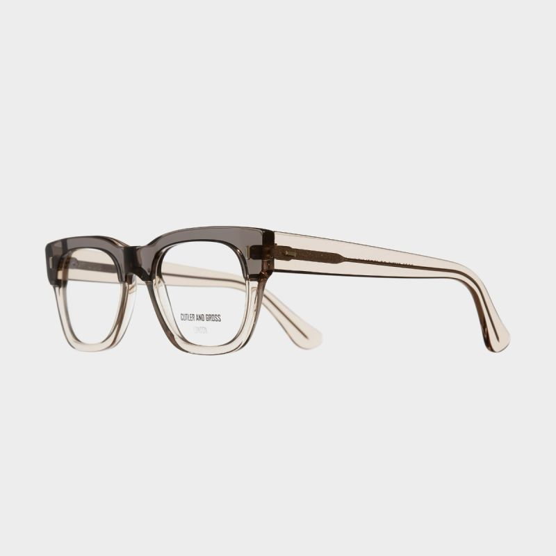 0772V2 Optical Square Glasses-Tobacco