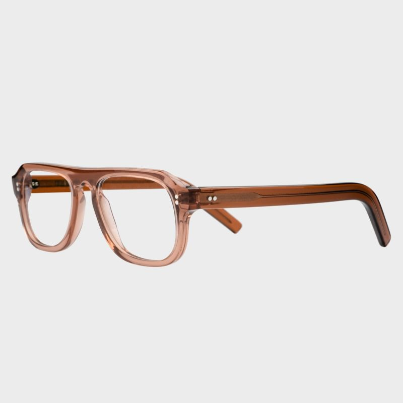 0822 Optical Aviator Glasses-Rhubarb
