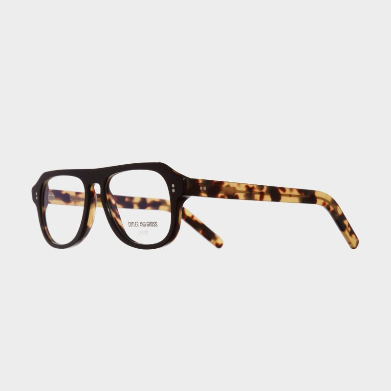 0822V2 Optical Aviator Glasses-Black on Camo