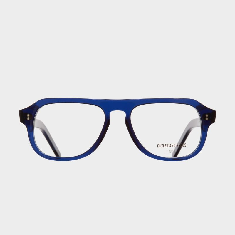 0822V3 Optical Aviator Glasses (Large)-Classic Navy Blue