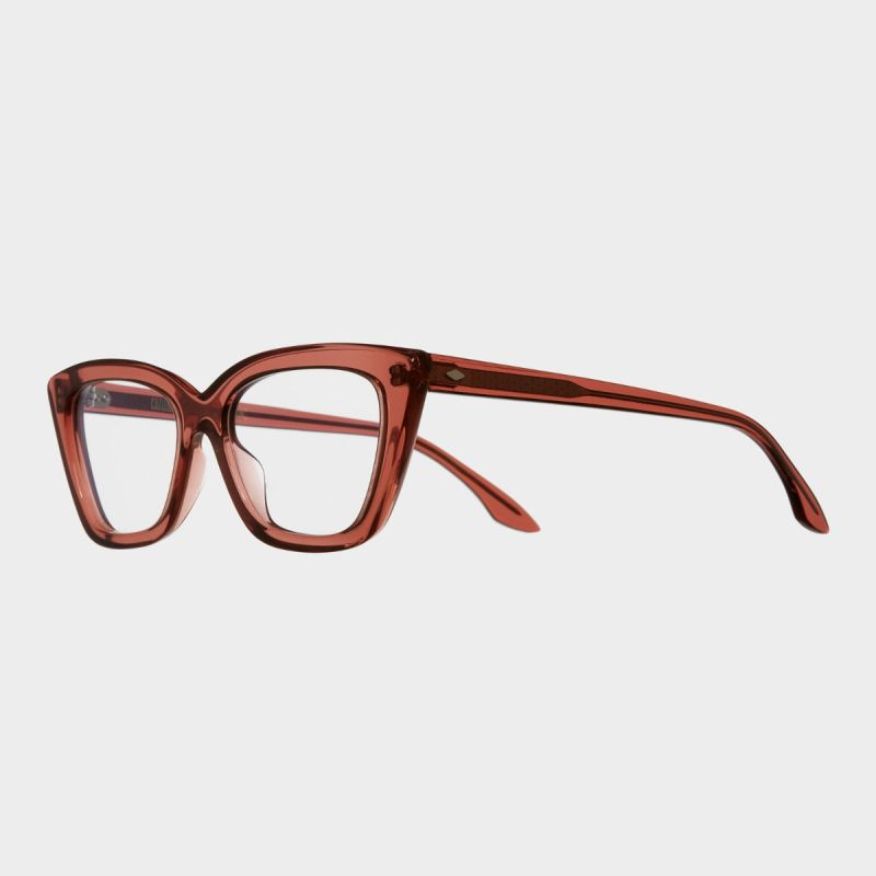 1241 Optical Cat-Eye Glasses-Rhubarb