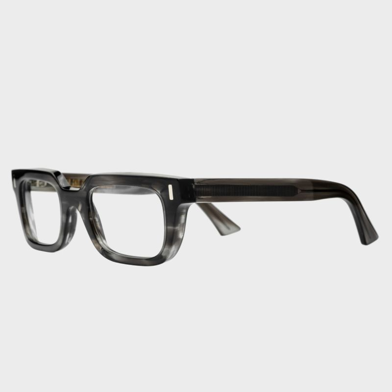 1306 Optical Square Glasses-Green Smoke