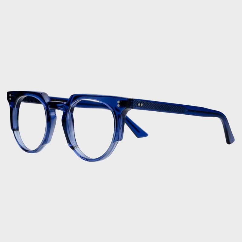 1383 Optical Round Glasses-Russian Blue