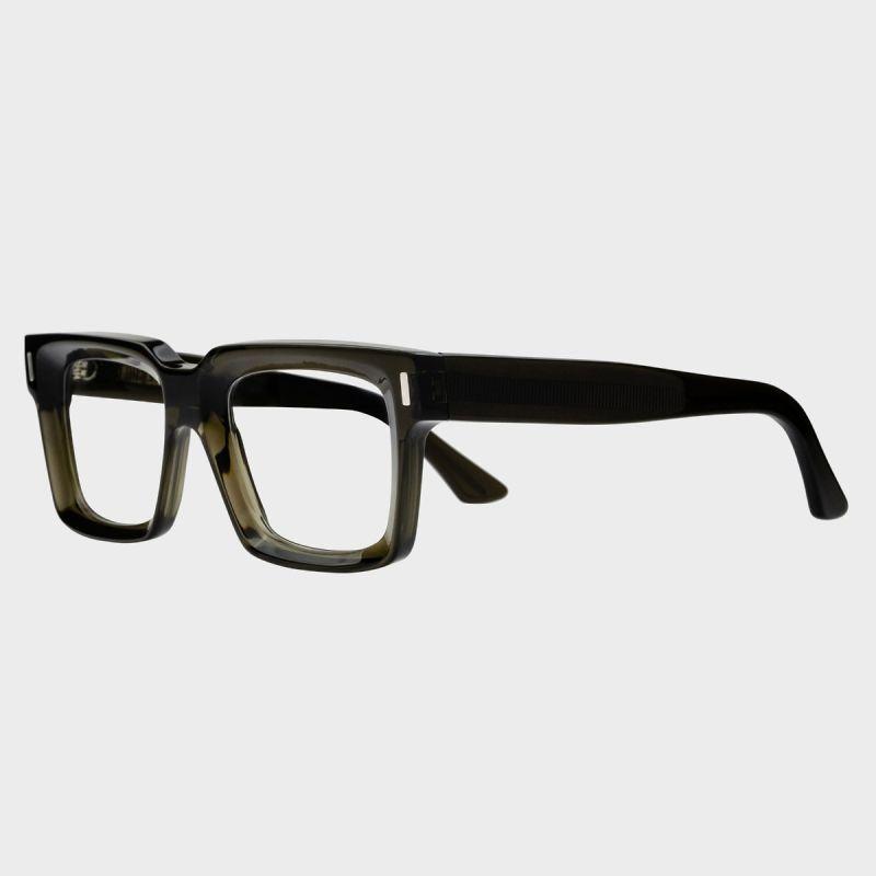 1386 Optical Square Glasses-Olive Green