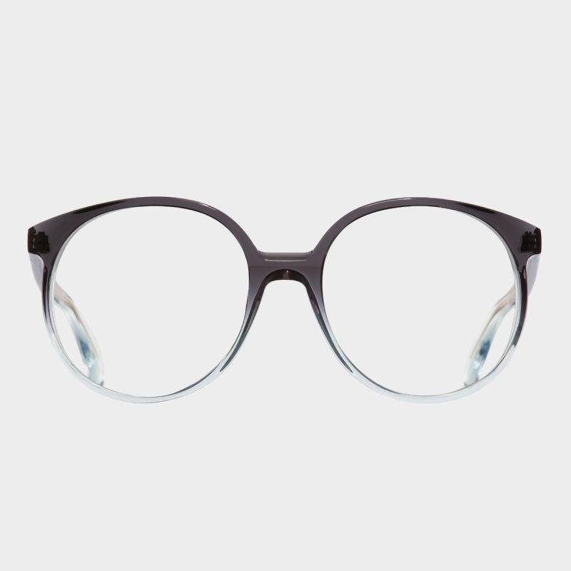 1395 Optical Round Glasses-Black Beauty