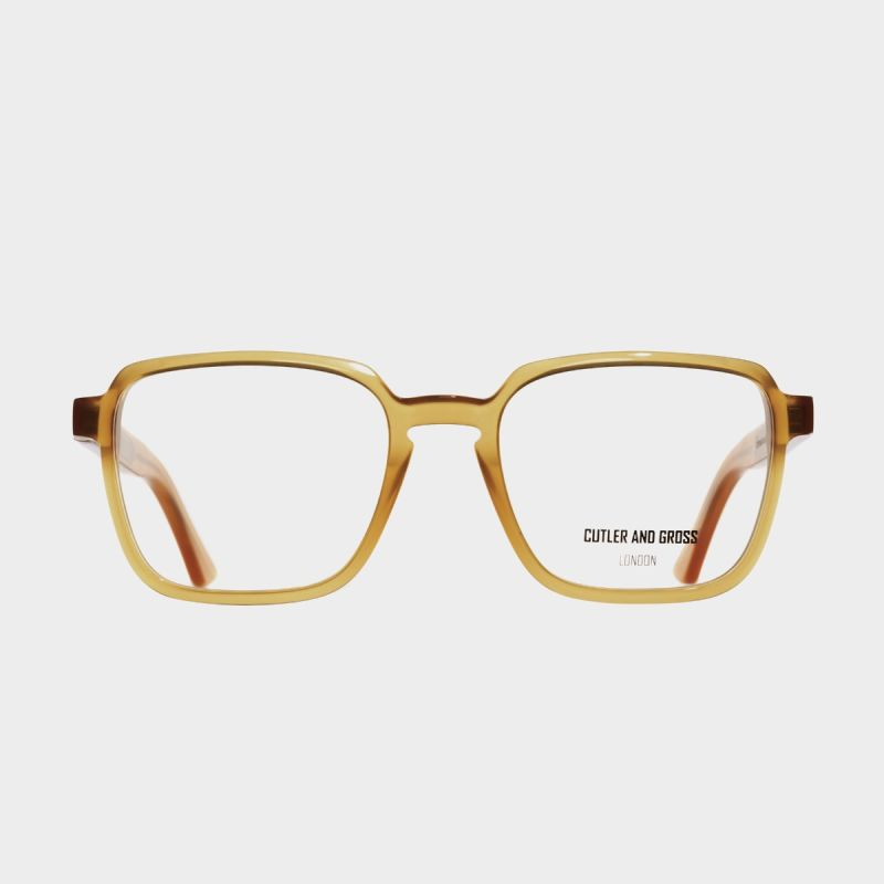 1361 Optical Square Glasses-Honey