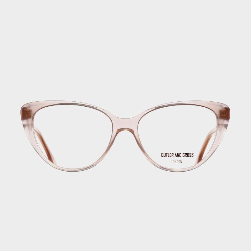1370 Optical Cat-Eye Glasses-Prawn Cocktail