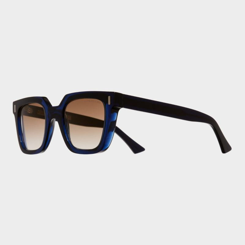 1305 Square Sunglasses-Blue Navy