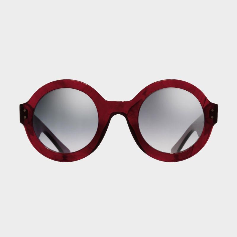 1377 Round Sunglasses-Red Mini