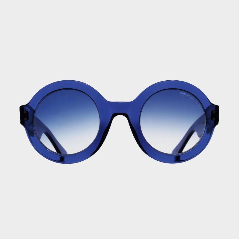 1377 Round Sunglasses-Russian Blue