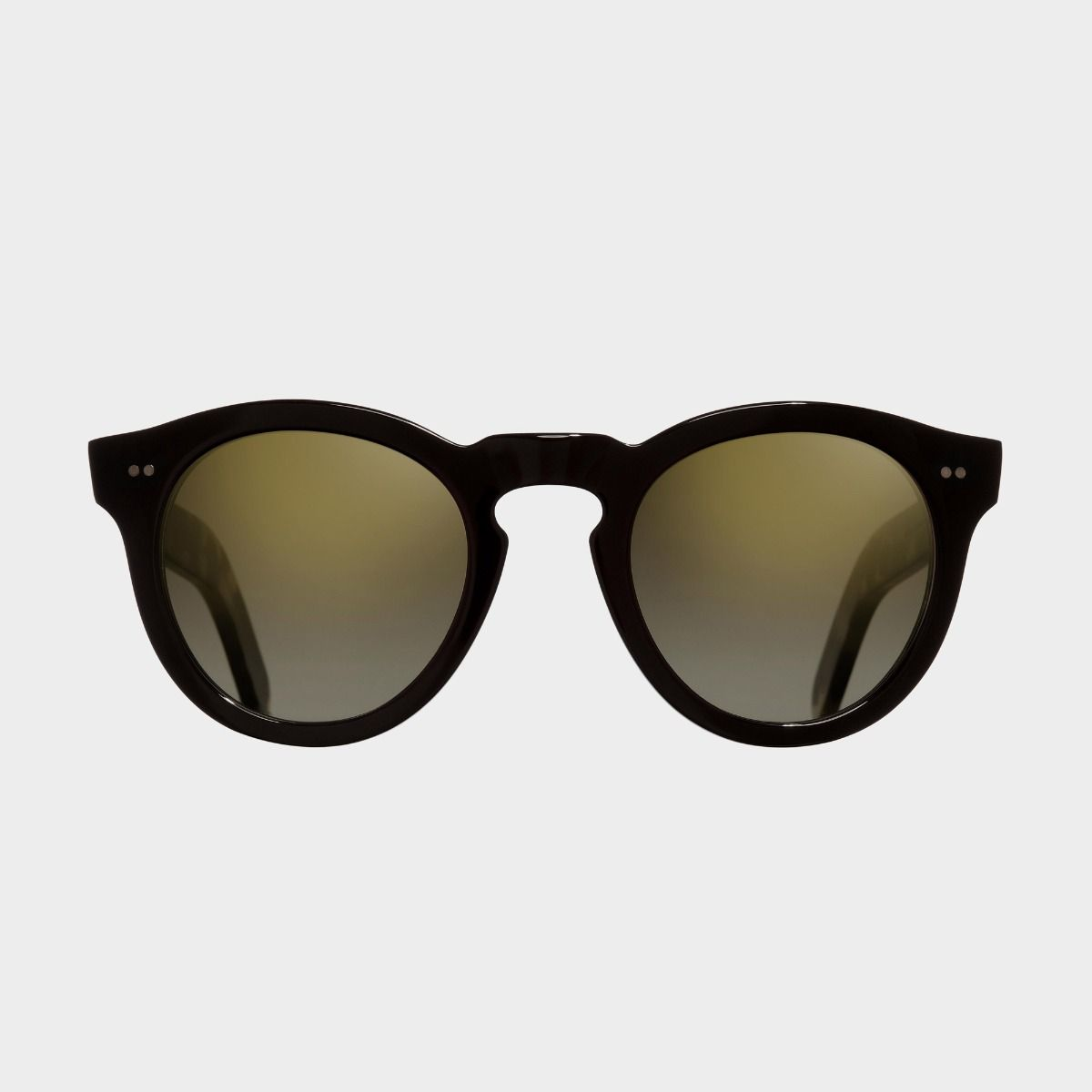 0734 Round Sunglasses (Large)-Black on Camo