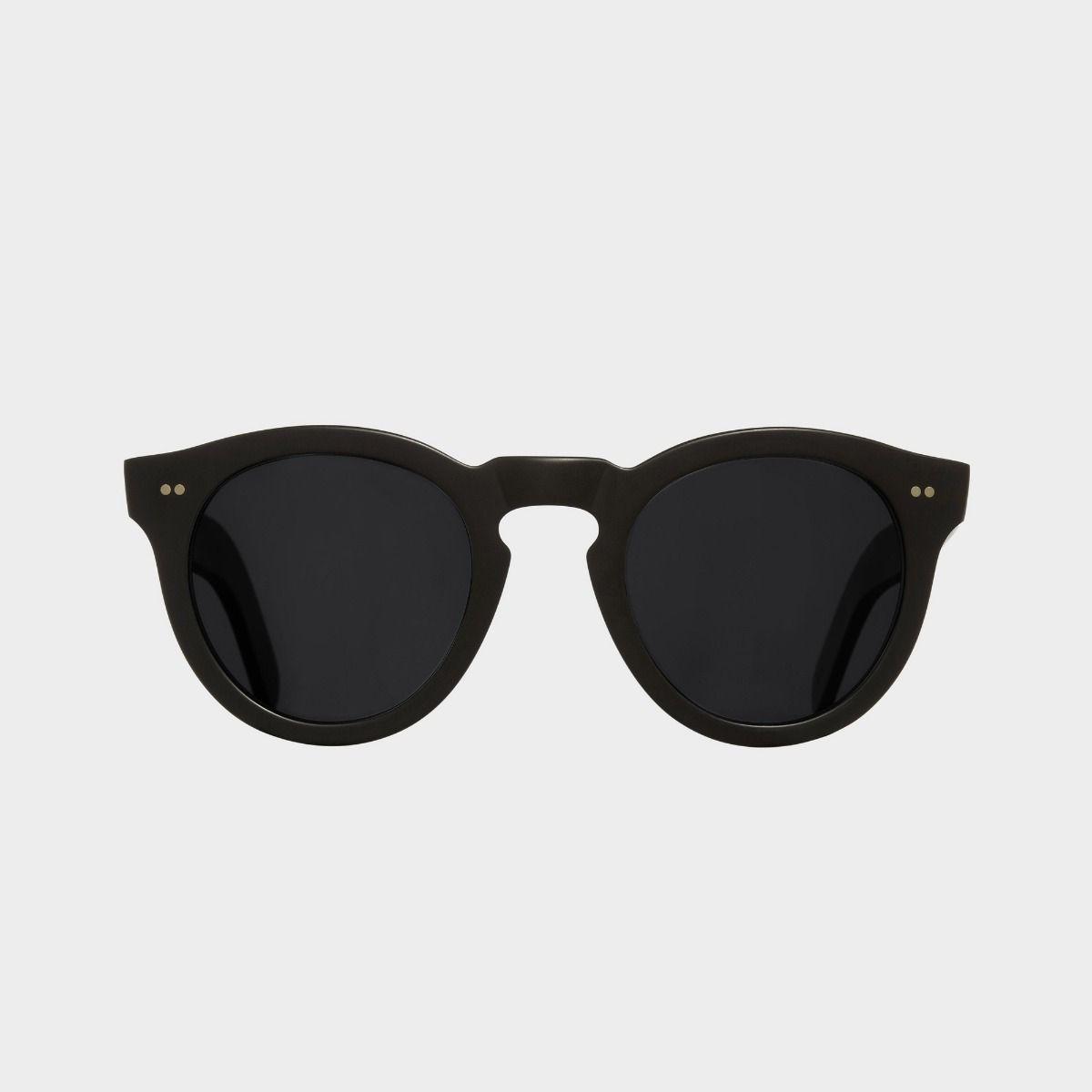 0734V2 Round Sunglasses (Small)-Matt Black