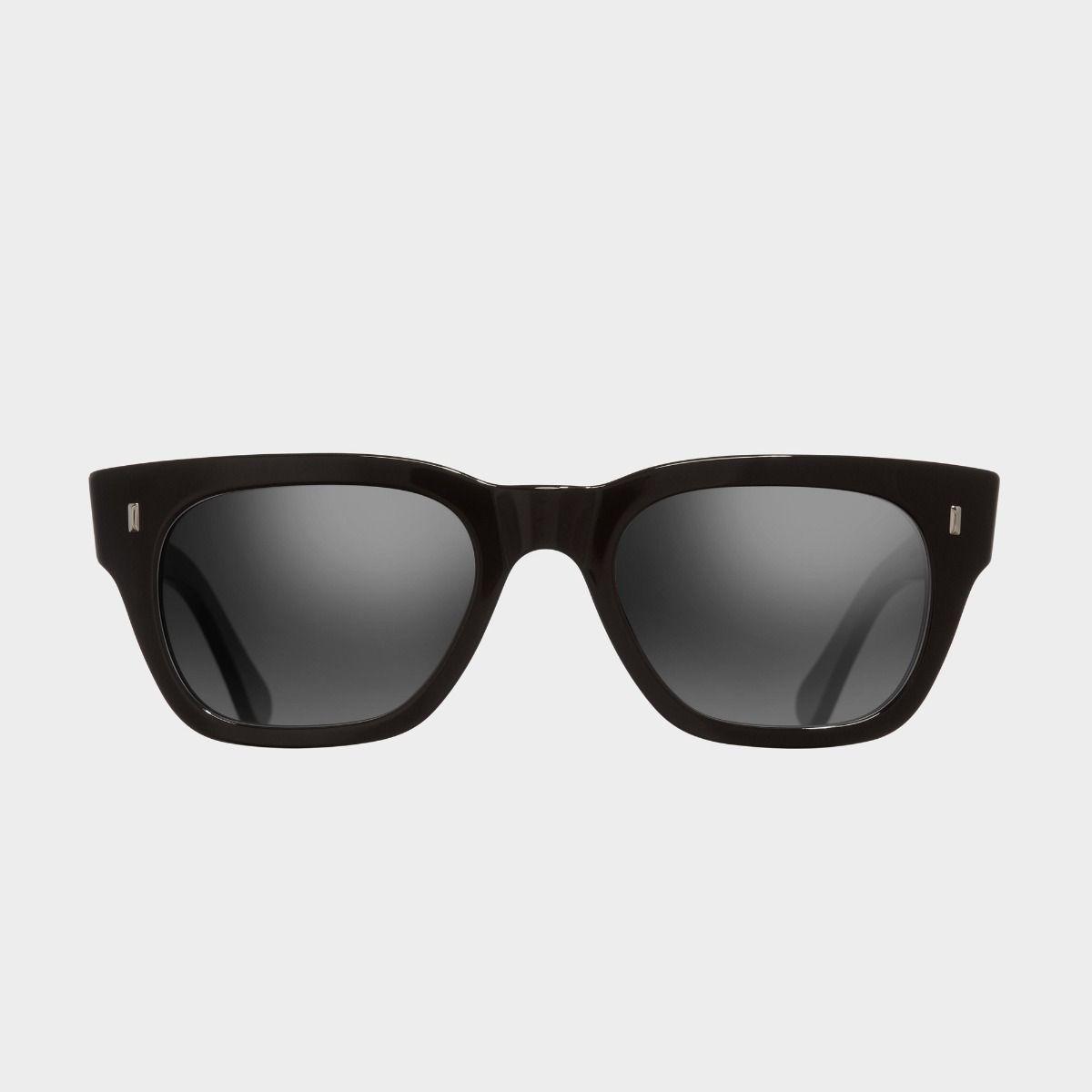 0772V2 Square Sunglasses-Black