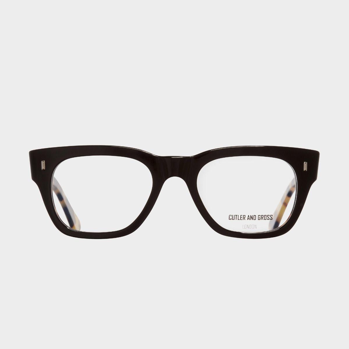 0772V2 Optical Square Glasses-Black on Camo