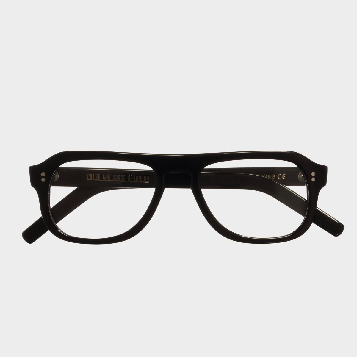 0822 Optical Aviator Glasses-Black