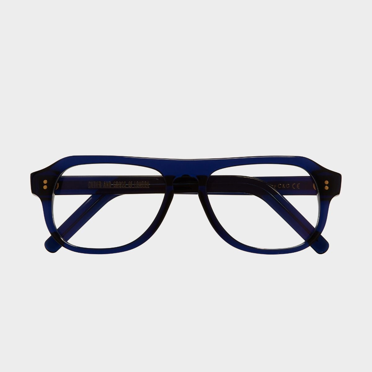 0822V2 Optical Aviator Glasses-Classic Navy Blue