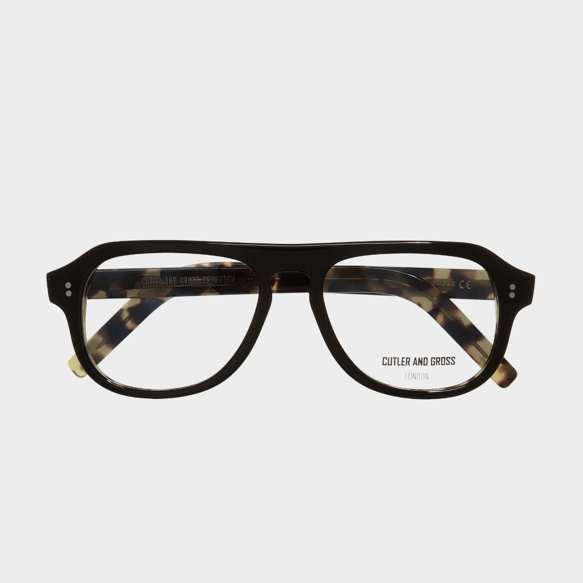 0822V3 Optical Aviator Glasses (Large)-Black on Camo