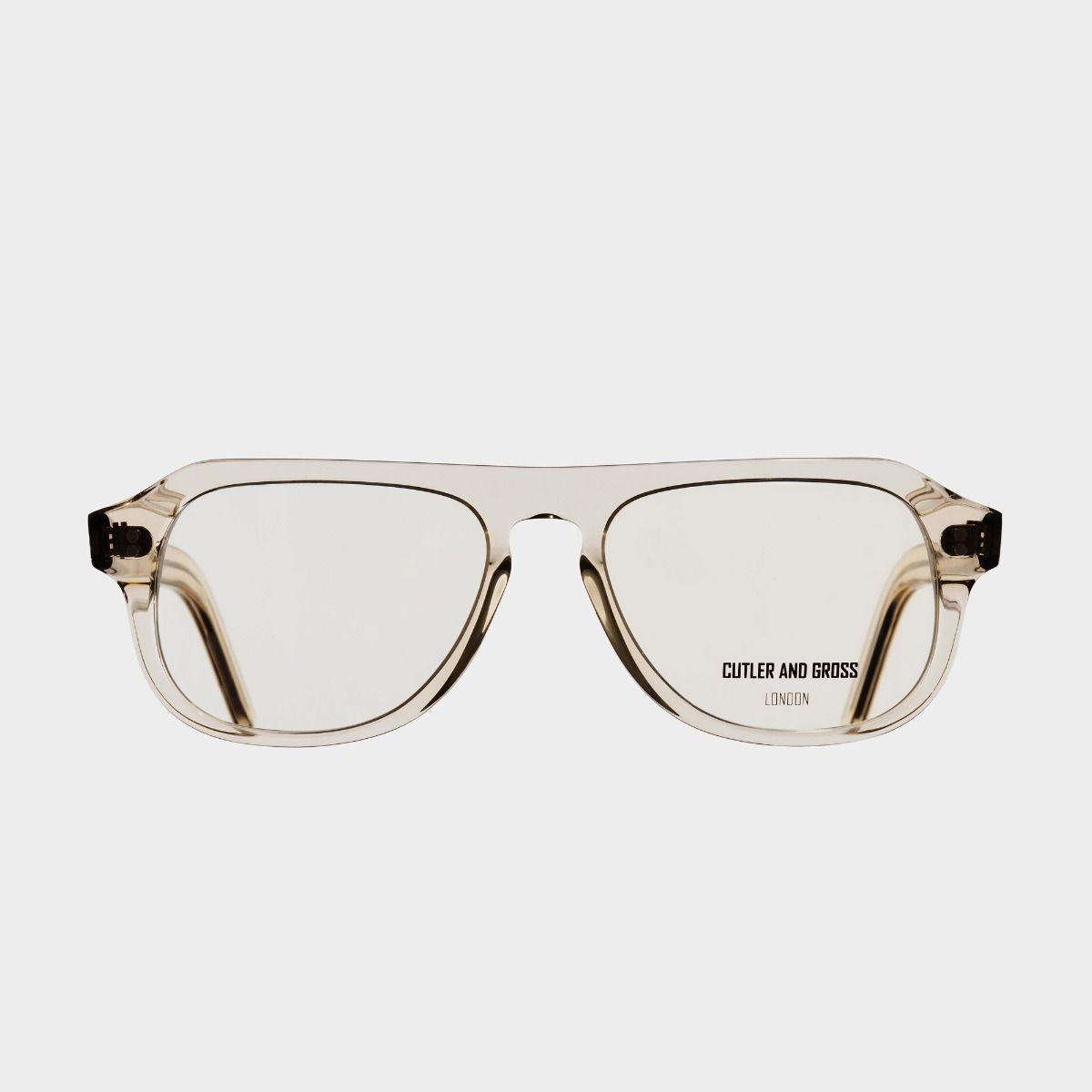 0822V3 Optical Aviator Glasses (Large)-Granny Chic