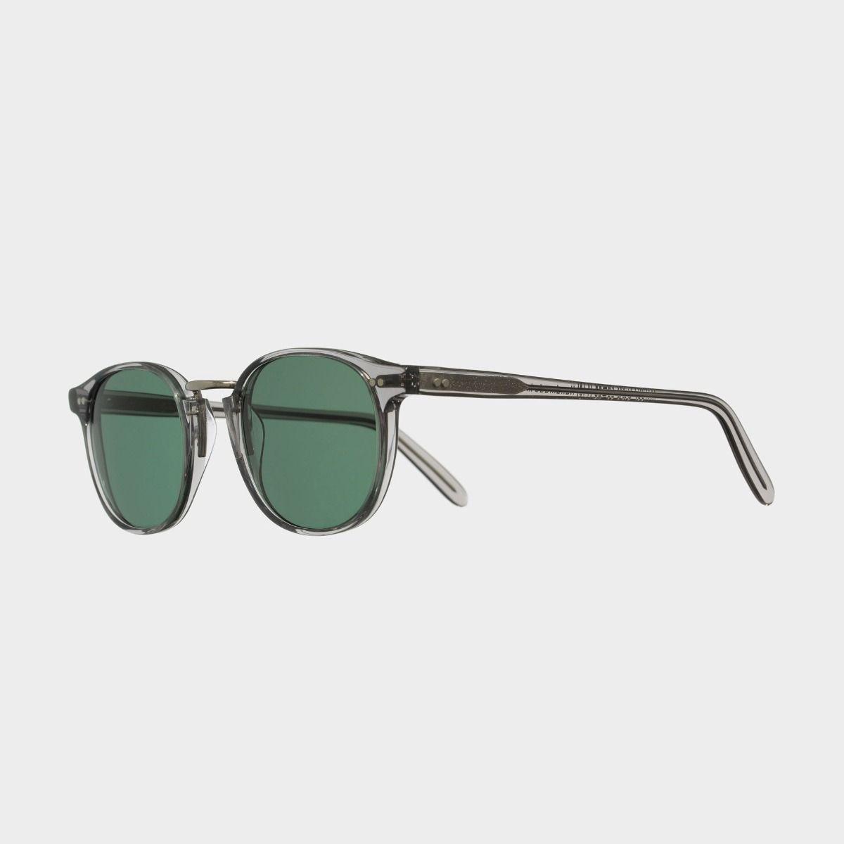 1007 Round Sunglasses-Smoky Quartz
