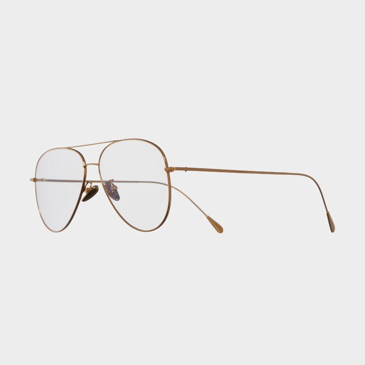 1266 Plated Optical Aviator Glasses