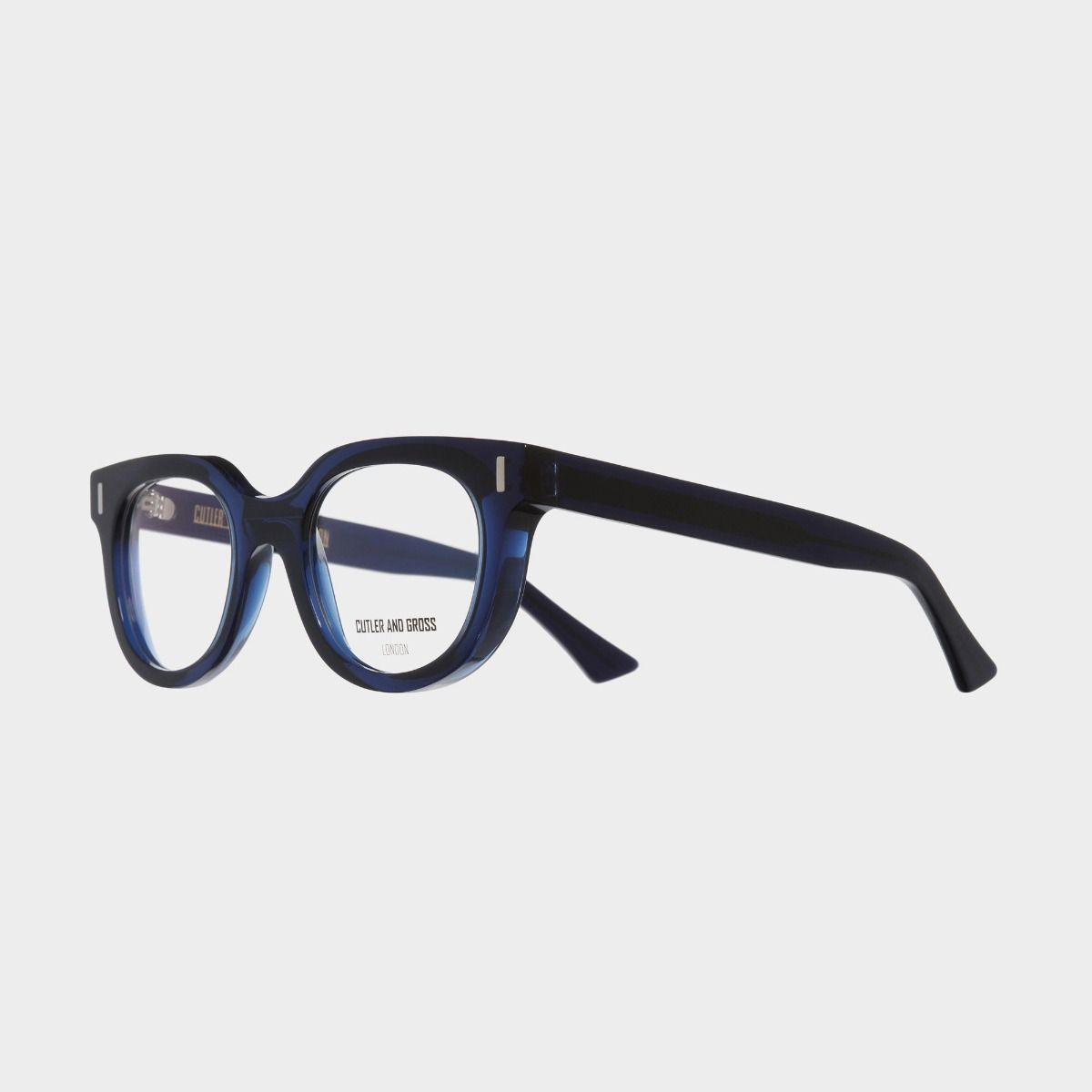 1304 Optical Round Glasses-Classic Navy Blue