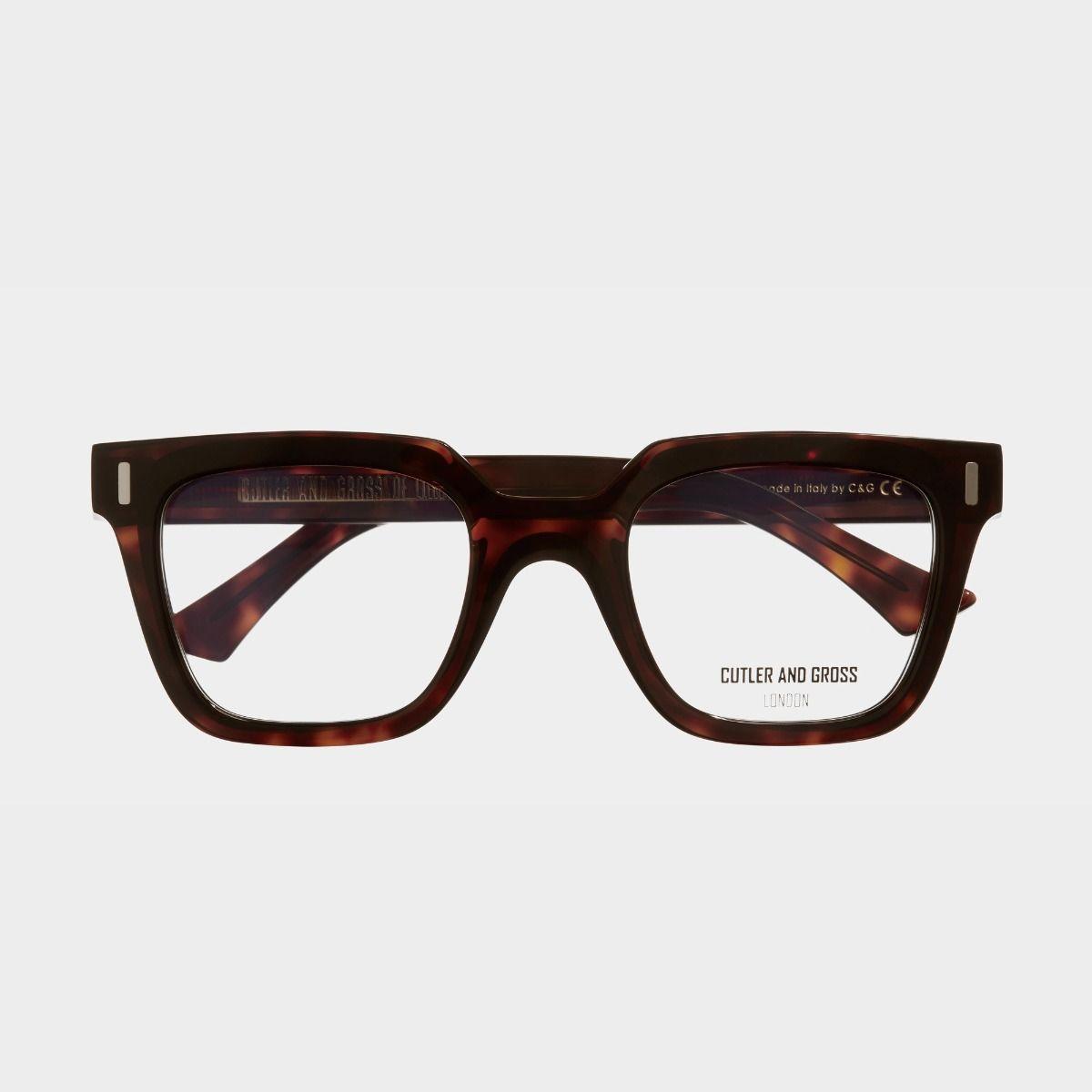 1305 Optical Square Glasses-Dark Turtle