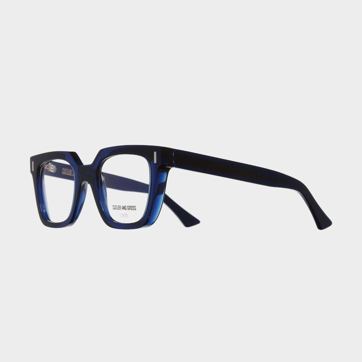 1305 Optical Square Glasses-Blue Navy
