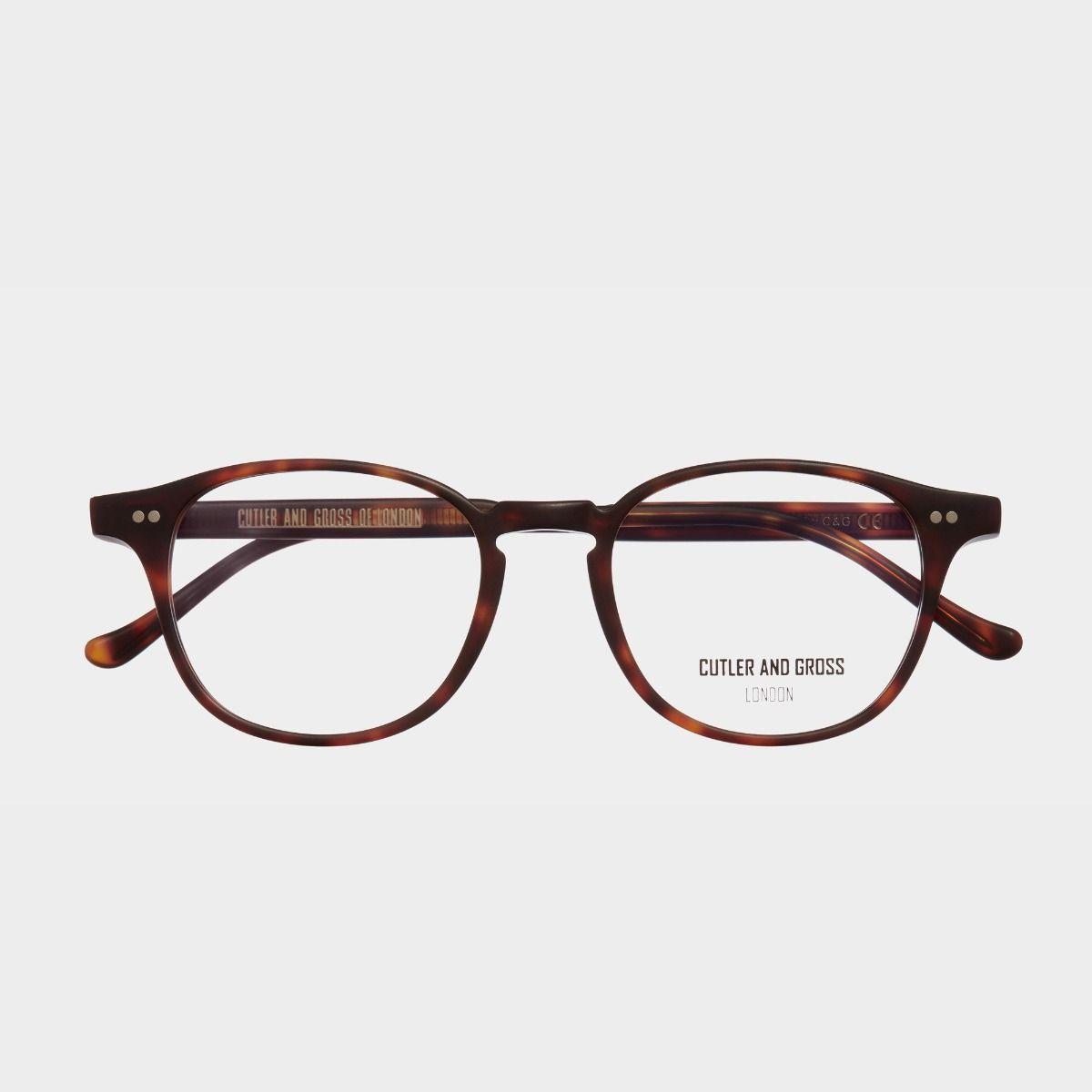 1312V2 Optical D-Frame Glasses (Large)
